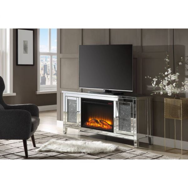 Noralie TV Stand w/Fireplace (LED)