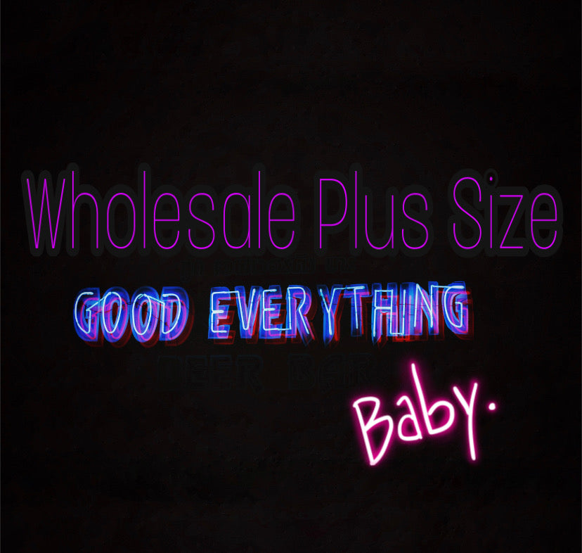 Plus Size Wholesale