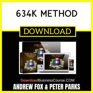 Andrew Fox Peter Parks 634k Method FREE DOWNLOAD
