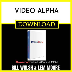 Bill Walsh And Lem Moore Video Alpha FREE DOWNLOAD