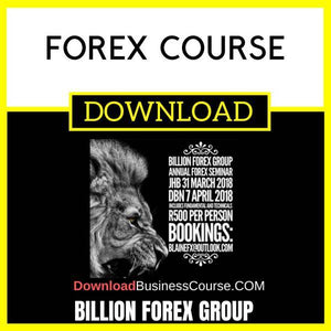 Billion Forex Group Forex Course FREE DOWNLOAD