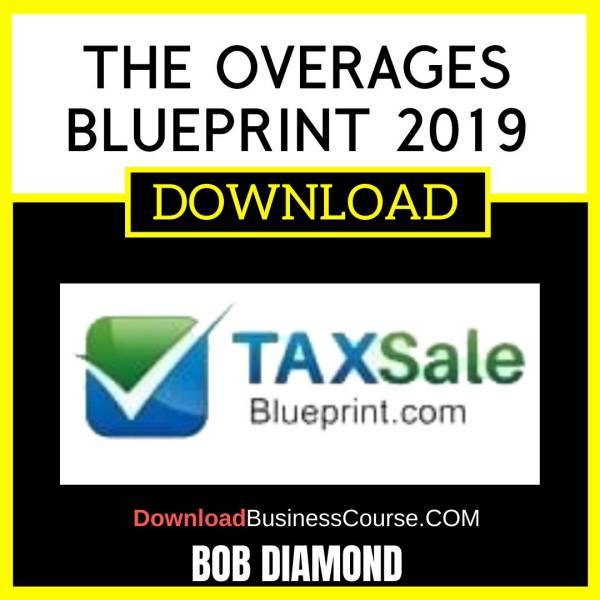 Bob Diamond The Overages Blueprint 2019 FREE DOWNLOAD
