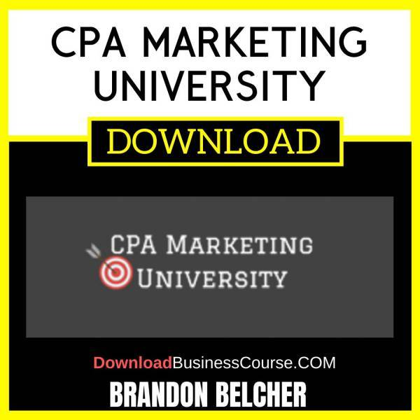 Brandon Belcher Cpa Marketing University FREE DOWNLOAD