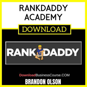 Brandon Olson Rankdaddy Academy FREE DOWNLOAD
