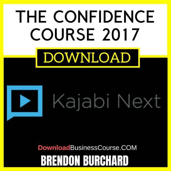 Brendon Burchard The Confidence Course 2017 FREE DOWNLOAD