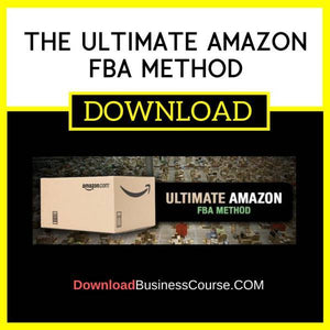 Brian Cinnamon The Ultimate Amazon Fba Method FREE DOWNLOAD