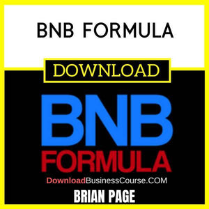 Brian Page Bnb Formula FREE DOWNLOAD