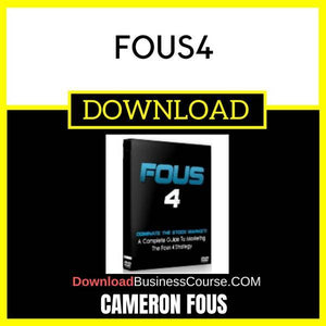 Cameron Fous Fous4 FREE DOWNLOAD