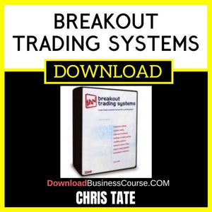 Chris Tate Breakout Trading Systems FREE DOWNLOAD