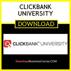 Clickbank University FREE DOWNLOAD