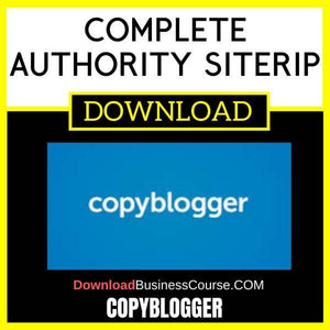 Copyblogger Complete Authority Siterip FREE DOWNLOAD
