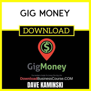 Dave Kaminski Gig Money FREE DOWNLOAD
