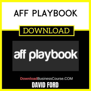 David Ford Aff Playbook FREE DOWNLOAD