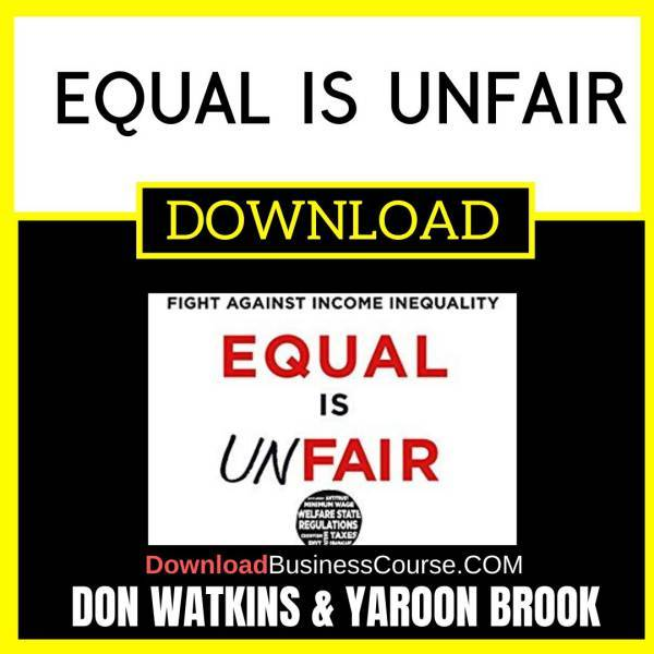 [Audiobook] Don Watkins, Yaron Brook - Equal Is Unfair: America\'s Misguided Fight... FREE DOWNLOAD