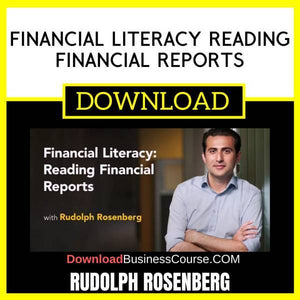 Financial Literacy Reading Financial Reports FREE DOWNLOAD