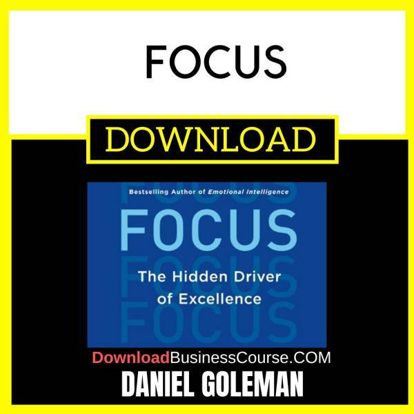 [Audiobook] Daniel Goleman - Focus FREE DOWNLOAD