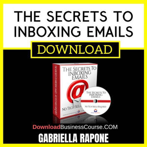 Gabriella Rapone The Secrets To Inboxing Emails FREE DOWNLOAD
