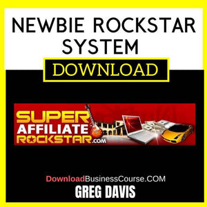 Greg Davis Newbie Rockstar System FREE DOWNLOAD
