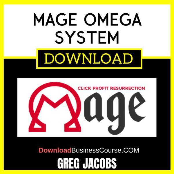 Greg Jacobs Mage Omega System FREE DOWNLOAD