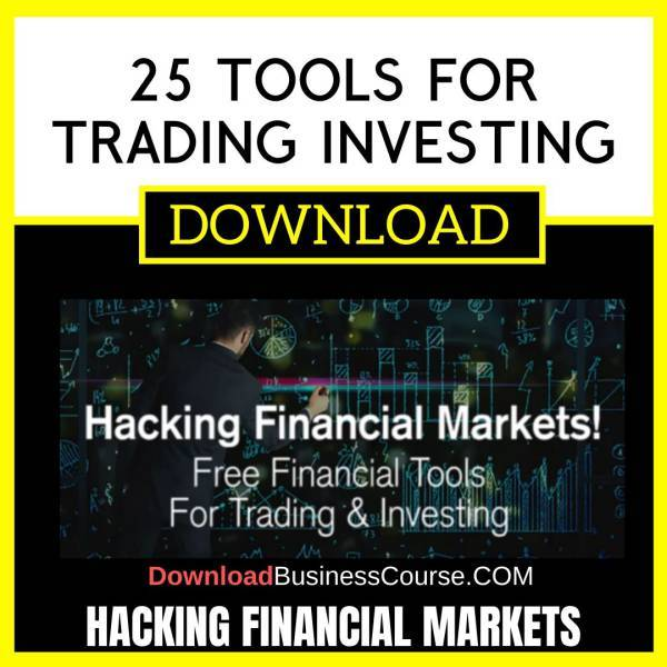 Hacking Financial Markets 25 Tools For Trading Investing 2016 FREE DOWNLOAD