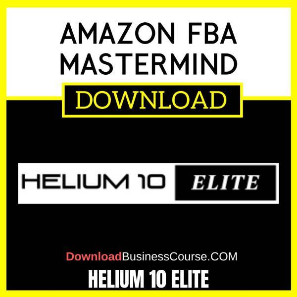Helium 10 Elite Amazon Fba Mastermind FREE DOWNLOAD