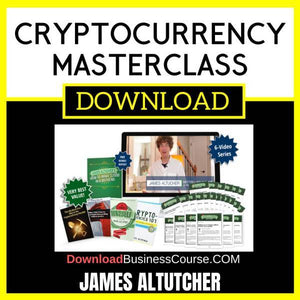 James Altucher Cryptocurrency Masterclass FREE DOWNLOAD