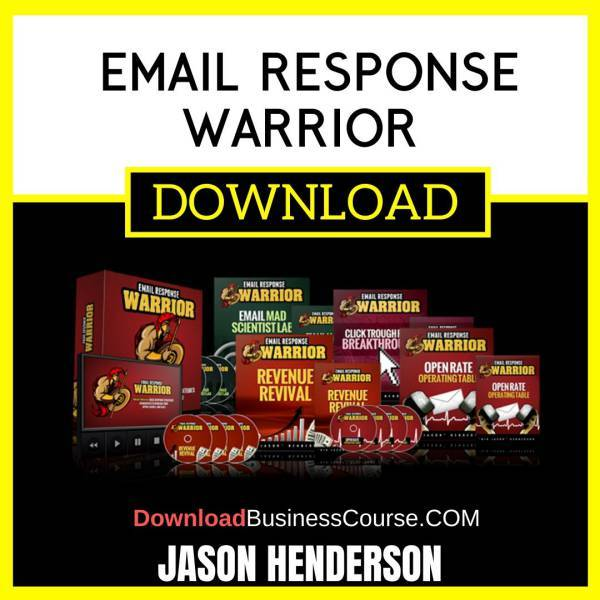Jason Henderson Email Response Warrior FREE DOWNLOAD