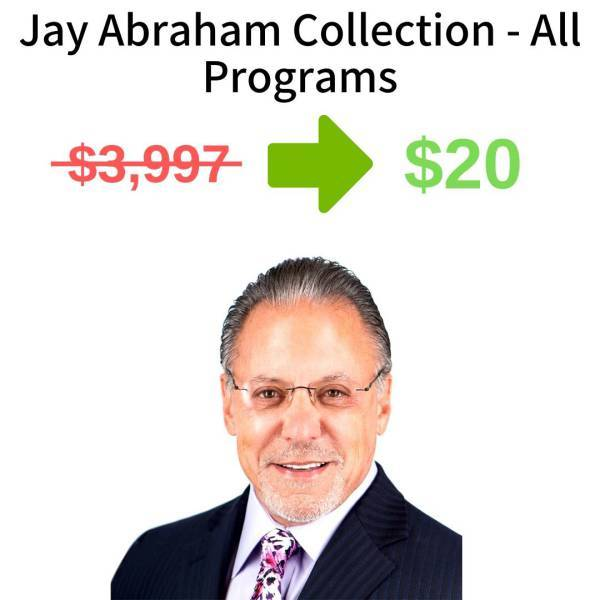 Jay Abraham Collection - All Programs FREE DOWNLOAD