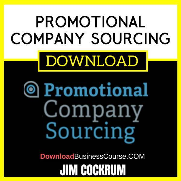 Jim Cockrum Promotional Company Sourcing FREE DOWNLOAD