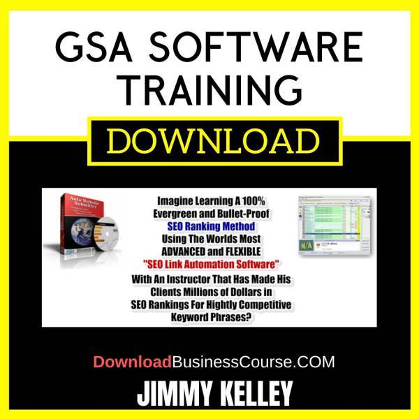 Jimmy Kelley Gsa Software Training FREE DOWNLOAD