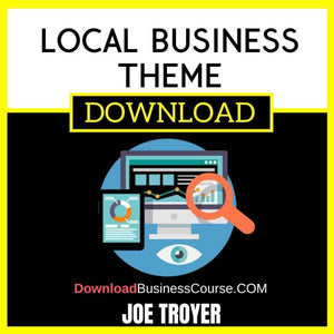 Joe Troyer Local Business Theme FREE DOWNLOAD
