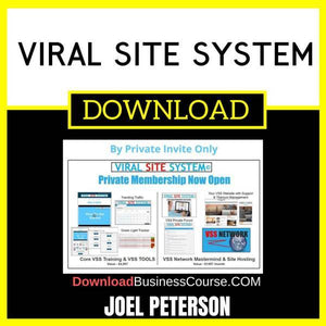 Joel Peterson Viral Site System FREE DOWNLOAD