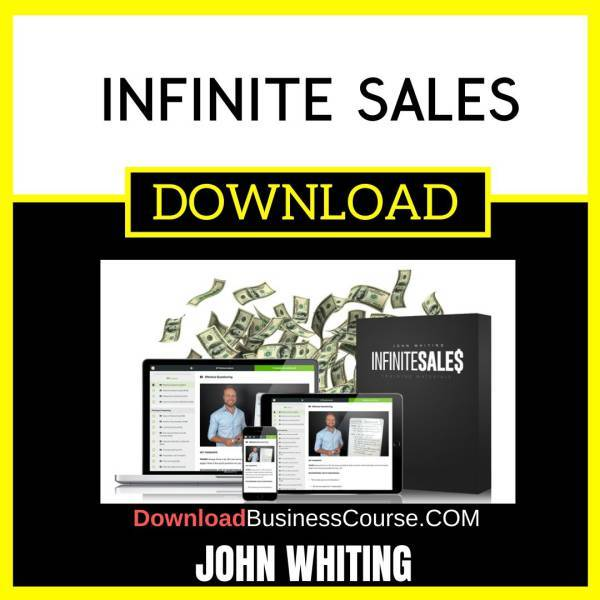 John Whiting Infinite Sales FREE DOWNLOAD