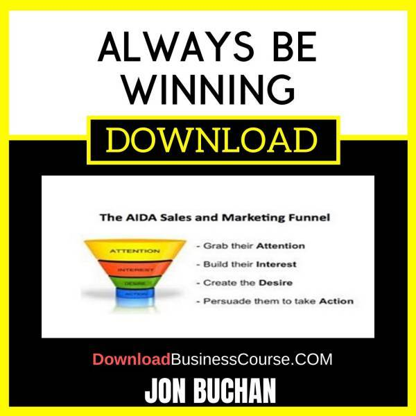 Jon Buchan Always Be Winning FREE DOWNLOAD