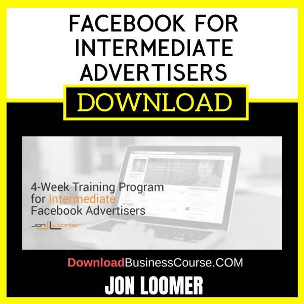 Jon Loomer Facebook For Intermediate Advertisers FREE DOWNLOAD