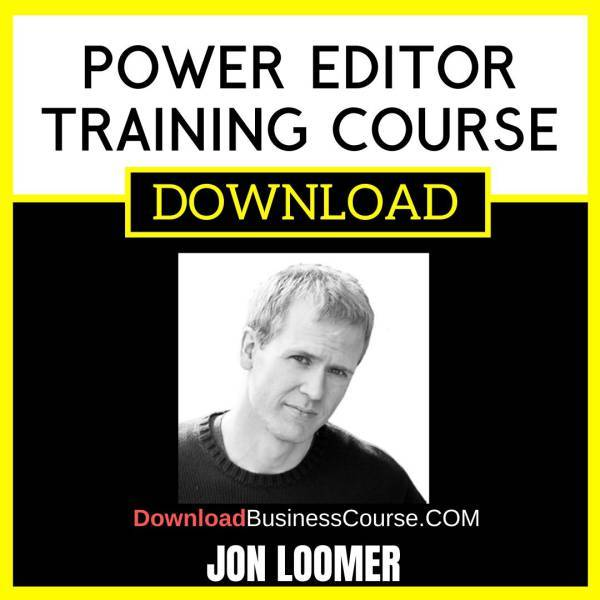 Jon Loomer Power Editor Training Course FREE DOWNLOAD
