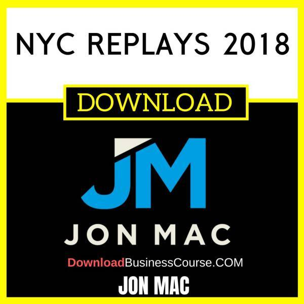 Jon Mac Nyc Replays 2018 FREE DOWNLOAD