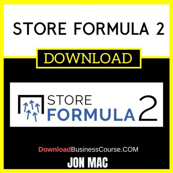Jon Mac Store Formula 2 FREE DOWNLOAD