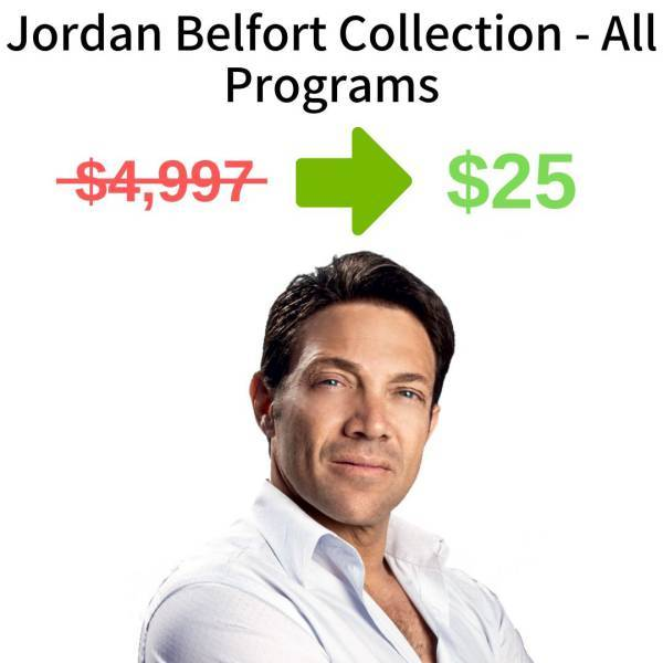 Jordan Belfort Collection - All Programs FREE DOWNLOAD