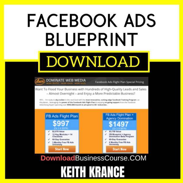 Keith Krance Facebook Ads Blueprint FREE DOWNLOAD