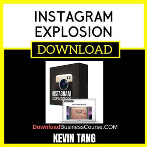 Kevin Tang Instagram Explosion FREE DOWNLOAD