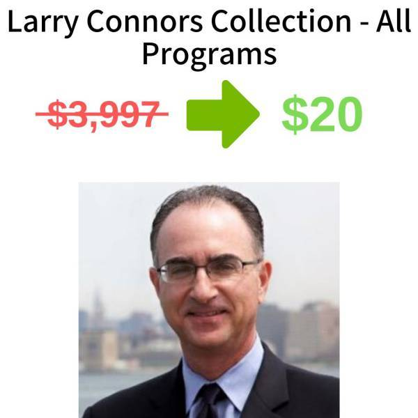 Larry Connors Collection - All Programs FREE DOWNLOAD