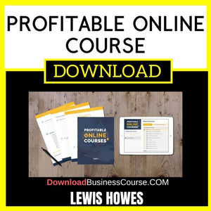 Lewis Howes Profitable Online Course FREE DOWNLOAD
