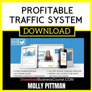 Molly Pittman Profitable Traffic System FREE DOWNLOAD
