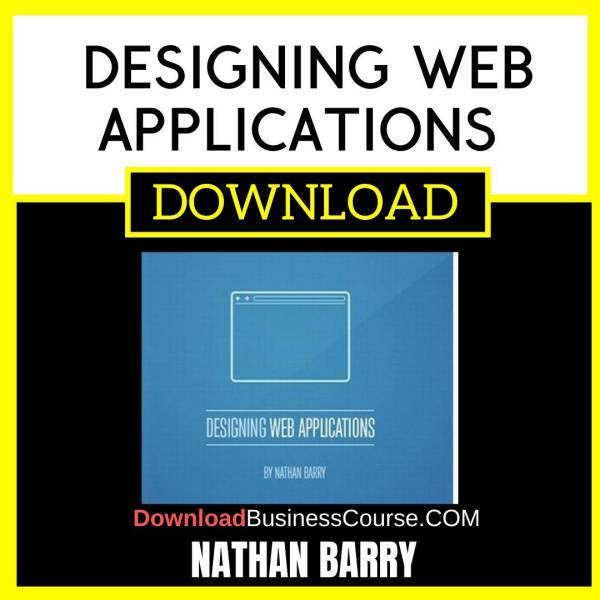 Nathan Barry Designing Web Applications FREE DOWNLOAD