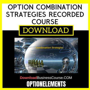 Optionelements Option Combination Strategies Recorded Course FREE DOWNLOAD