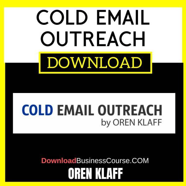 Oren Klaff Cold Email Outreach FREE DOWNLOAD