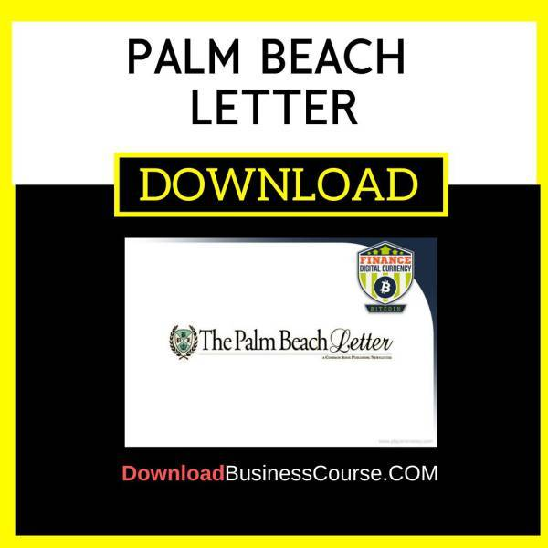 Palm Beach Letter FREE DOWNLOAD