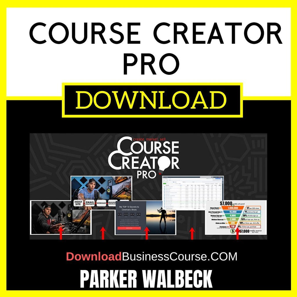 Parker Walbeck Course Creator Pro FREE DOWNLOAD