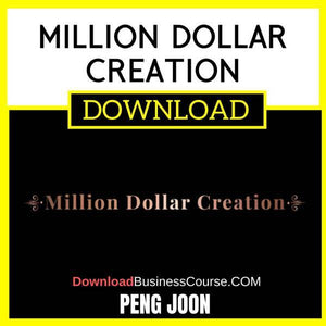 Peng Joon Million Dollar Creation FREE DOWNLOAD
